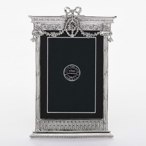 "5x7 ""FRENCH TABERNACLE"" - Extra Fine Pewter Frame"
