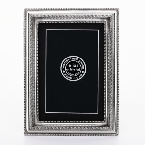 "3 1/2"" x 5"" Pinnacle Extra Fine Pewter Frame"